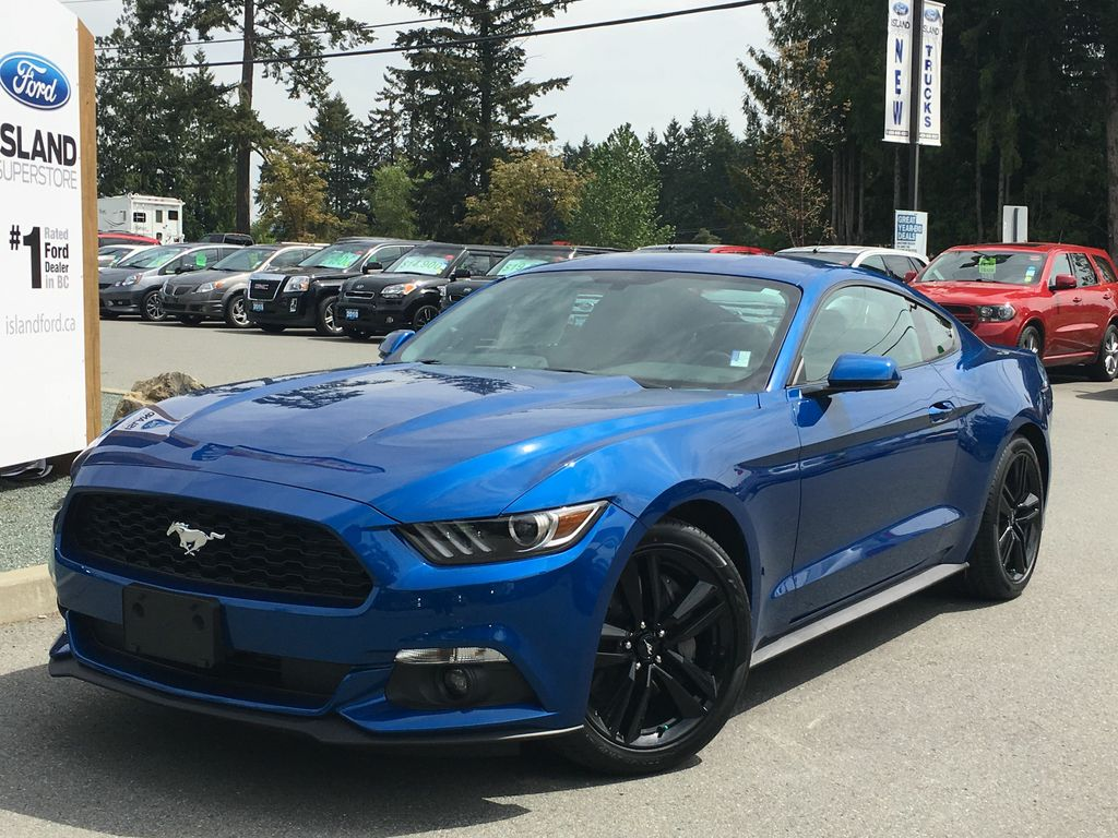 new 2017 ford mustang ecoboost premium 201a automatic 2. Black Bedroom Furniture Sets. Home Design Ideas