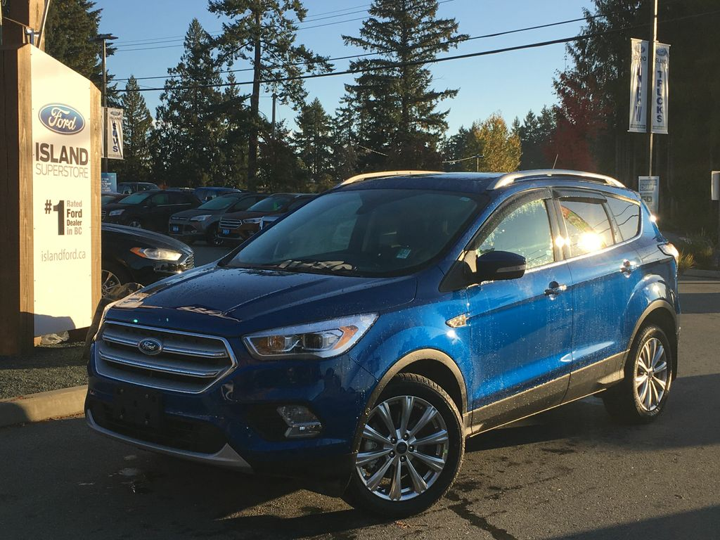 new 2018 ford escape titanium ecoboost awd 4 door sport utility in duncan 18055 island ford. Black Bedroom Furniture Sets. Home Design Ideas