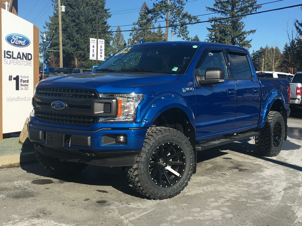New 2018 Ford F 150 Lifted Xlt Sport 302a V8 Supercrew 4