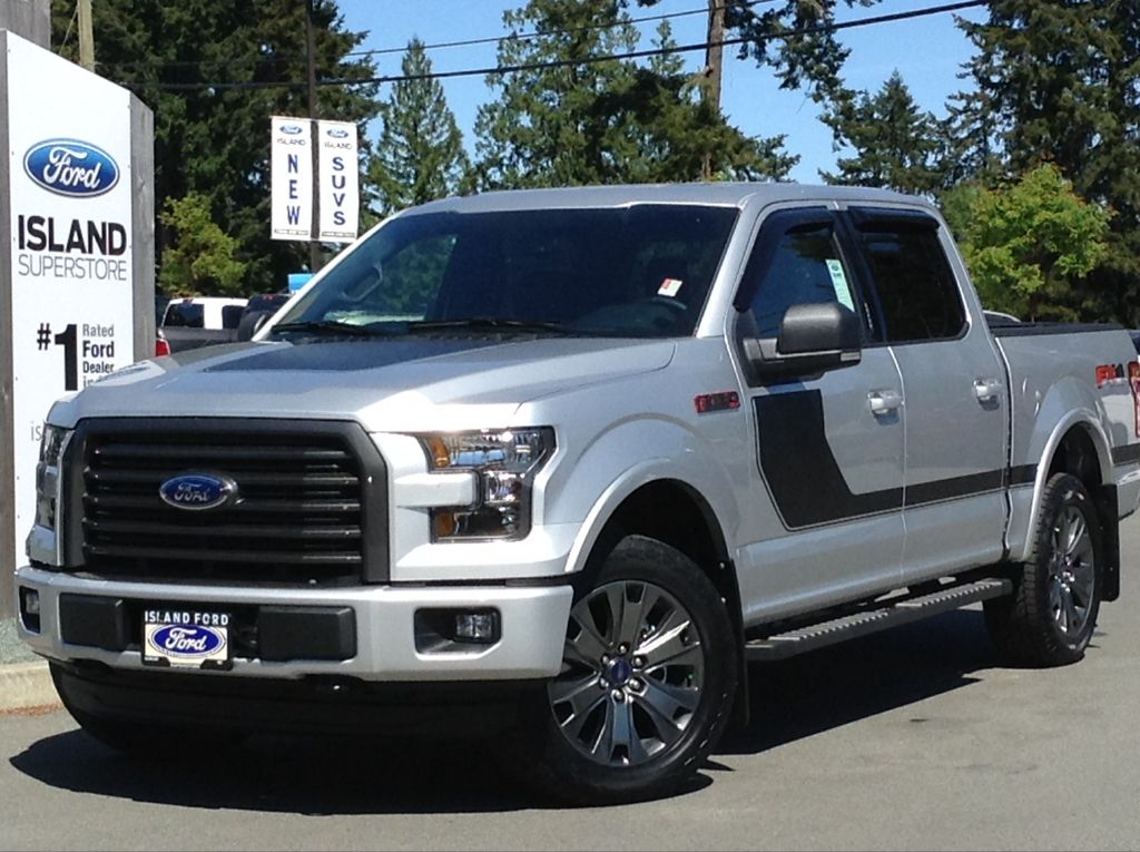 new 2016 ford f 150 xlt fx4 special edition sport 302a v8 supercrew 4 door pickup in duncan. Black Bedroom Furniture Sets. Home Design Ideas
