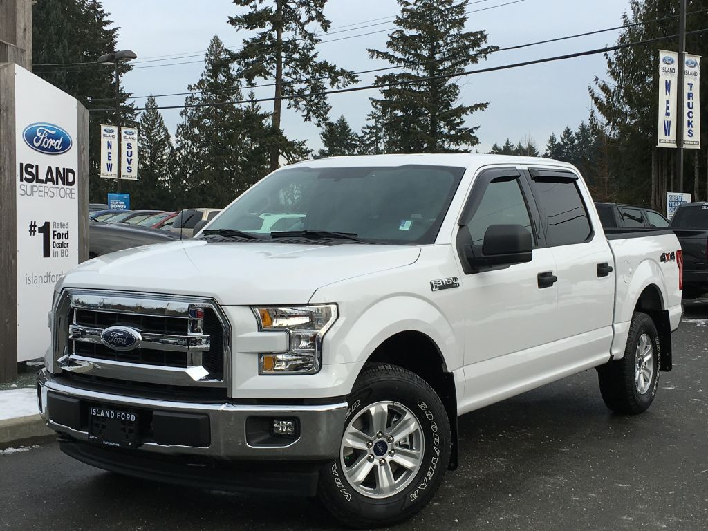 new 2017 ford f 150 xlt v8 supercrew 4 door pickup in duncan 17154 island ford. Black Bedroom Furniture Sets. Home Design Ideas