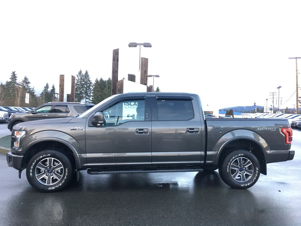 new 2017 ford f 150 lifted lariat sport technology 502a v8 supercrew 4 door pickup in duncan. Black Bedroom Furniture Sets. Home Design Ideas