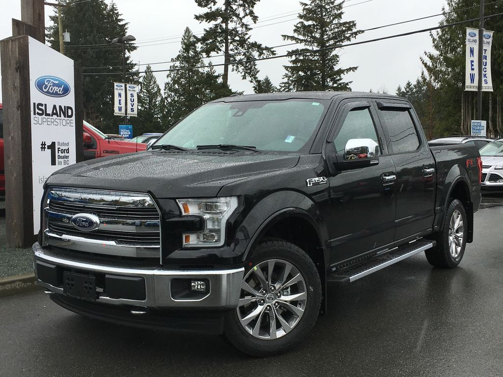 new 2017 ford f 150 lariat fx4 chrome v8 supercrew 4 door pickup in duncan 17248 island ford. Black Bedroom Furniture Sets. Home Design Ideas