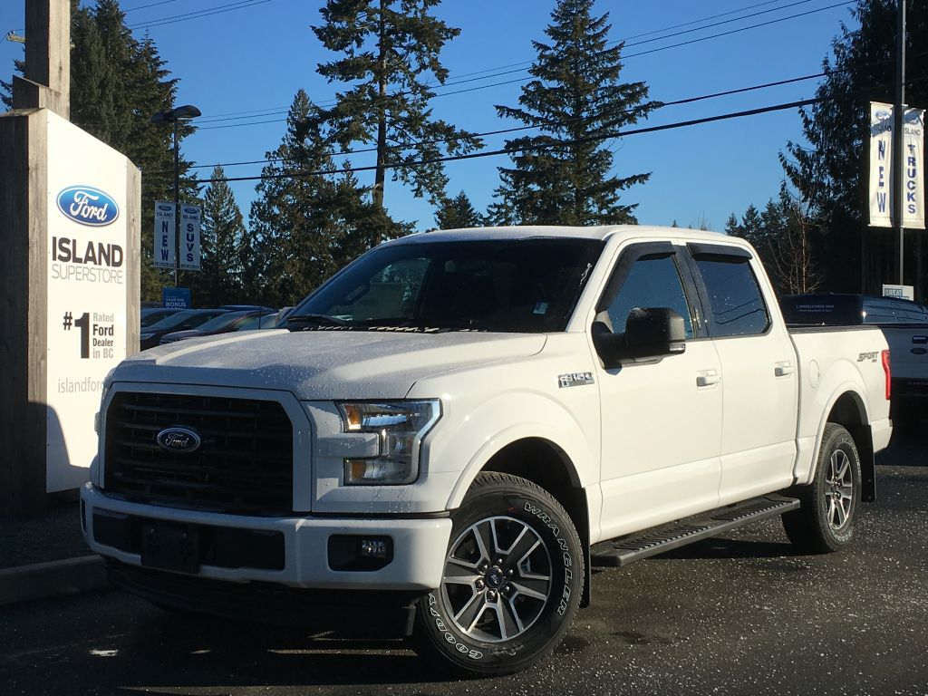 new 2017 ford f 150 xlt sport 302a v8 supercrew 4 door pickup in duncan 17189 island ford. Black Bedroom Furniture Sets. Home Design Ideas