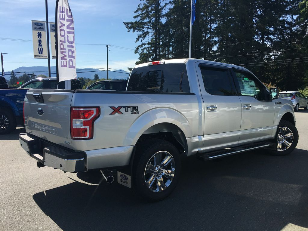 new 2018 ford f 150 xlt fx4 xtr 302a ecoboost supercrew 4 door pickup in duncan 18006 island ford. Black Bedroom Furniture Sets. Home Design Ideas