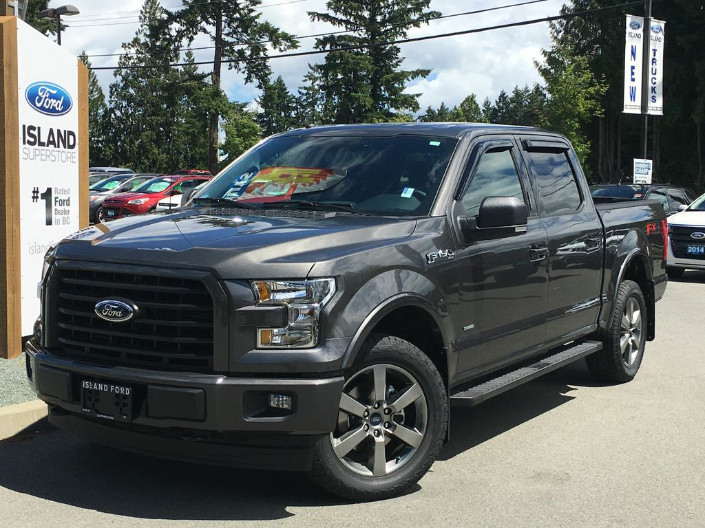 new 2017 ford f 150 xlt fx4 sport 302a ecoboost supercrew 4 door pickup in duncan 17397. Black Bedroom Furniture Sets. Home Design Ideas