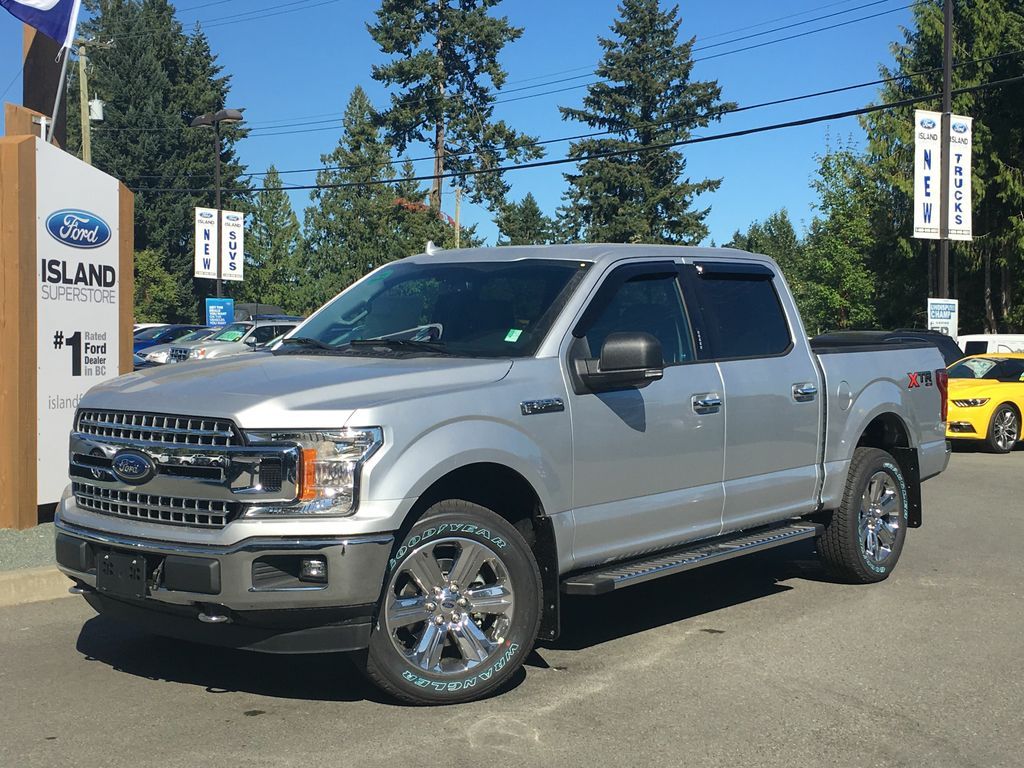 New 2018 Ford F 150 Xlt Fx4 Xtr 302a Ecoboost Supercrew