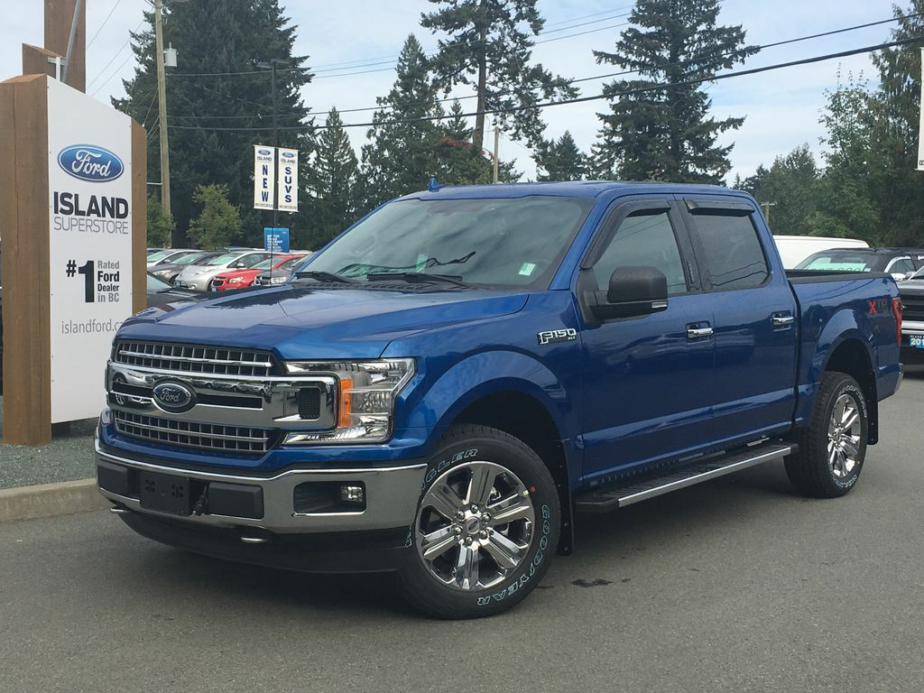 ... New 2018 Ford F-150 SuperCrew XLT 3.5L ECOBOOST, BLUETOOTH, XTR PACKAGE  ...