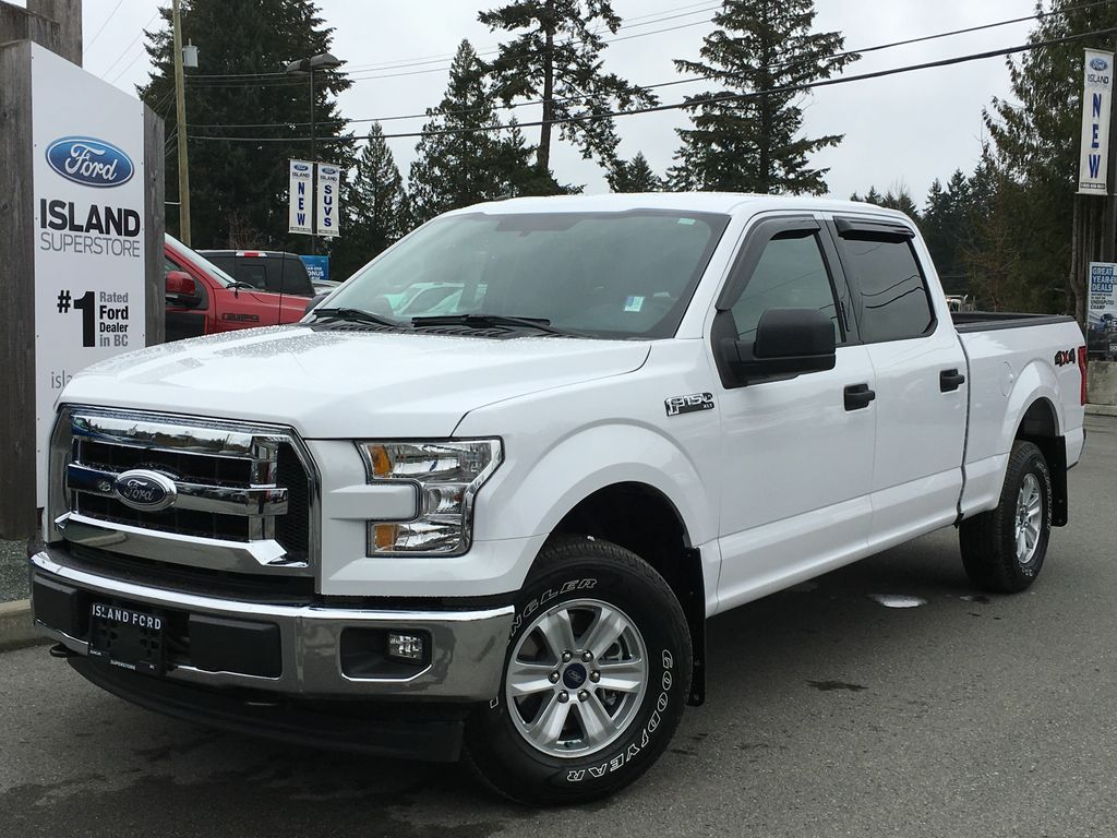 new 2017 ford f 150 xlt v8 supercrew 4 door pickup in duncan 17242 island ford. Black Bedroom Furniture Sets. Home Design Ideas