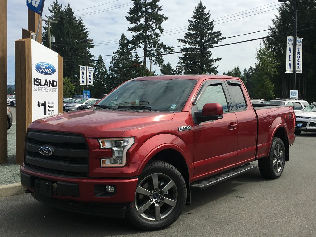 new 2017 ford f 150 lariat fx4 sport 502a v8 supercab 4 door pickup in duncan 17499 island ford. Black Bedroom Furniture Sets. Home Design Ideas