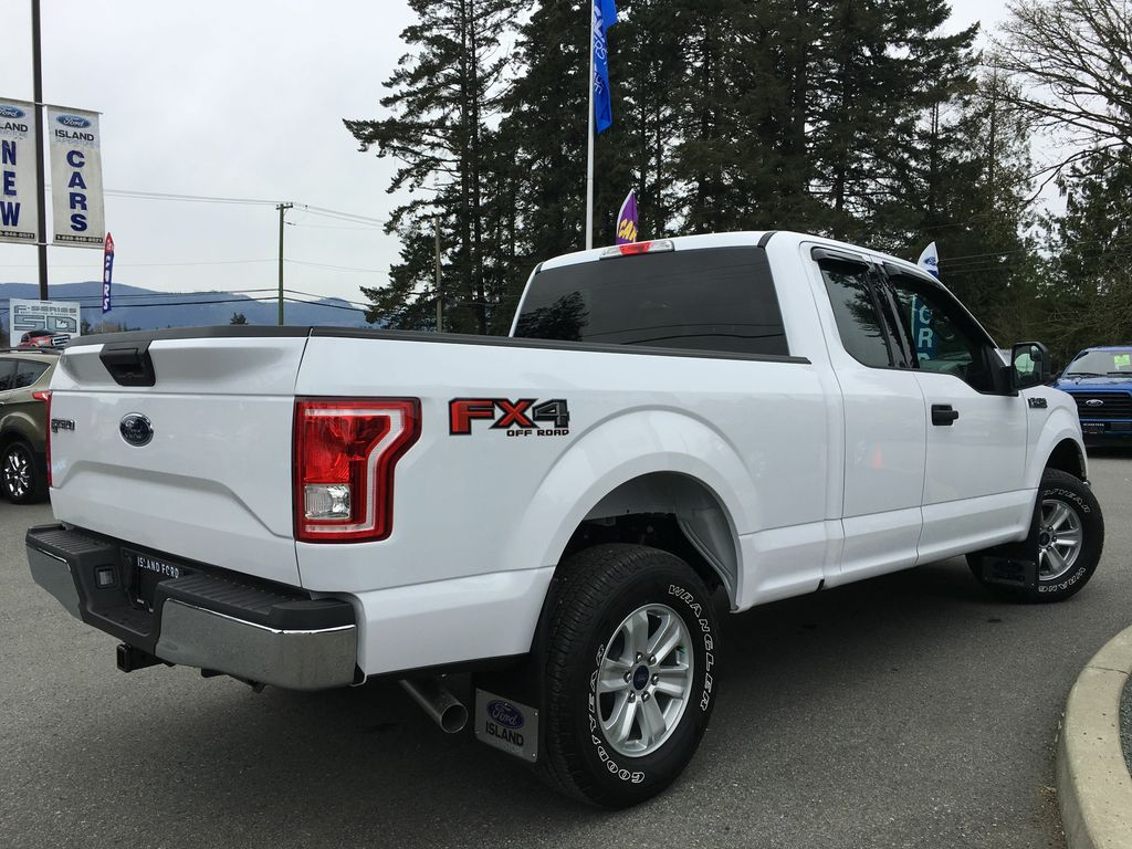 new 2017 ford f 150 xlt fx4 v8 super cab 4 door pickup in duncan 17276 island ford. Black Bedroom Furniture Sets. Home Design Ideas