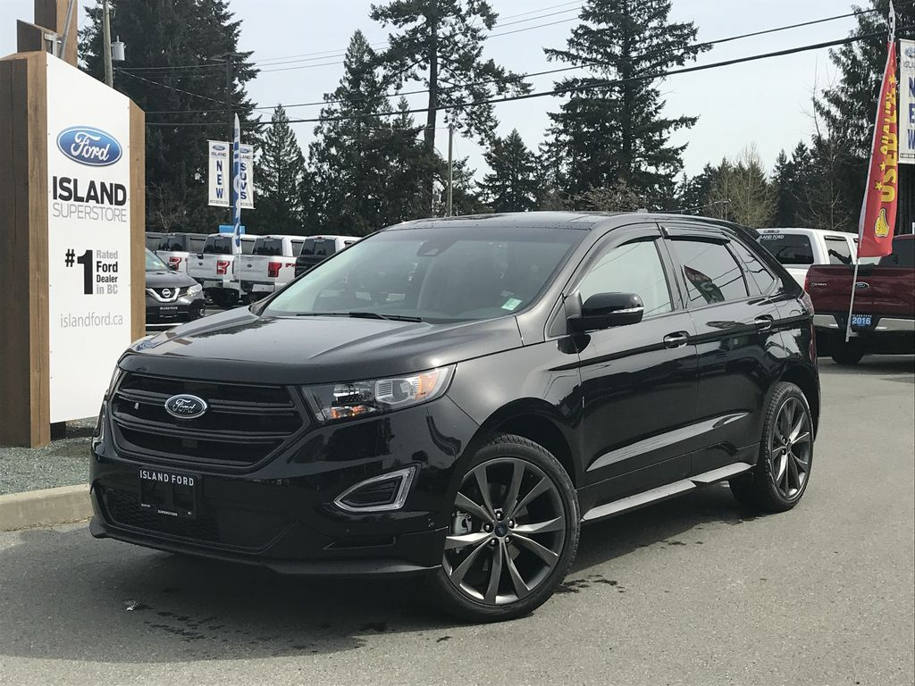 New  Ford Edge Sport Canadian Touring A Awd