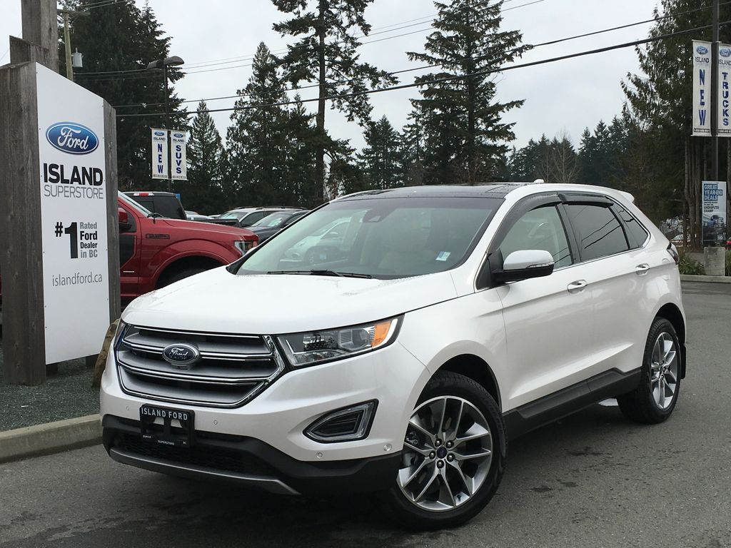 new 2017 ford edge titanium canadian touring ecoboost awd 4 door sport utility in duncan 17249. Black Bedroom Furniture Sets. Home Design Ideas