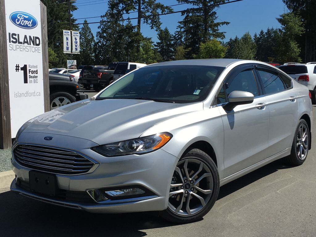 New 2017 Ford Fusion Se Appearance 4 Door Car In Duncan