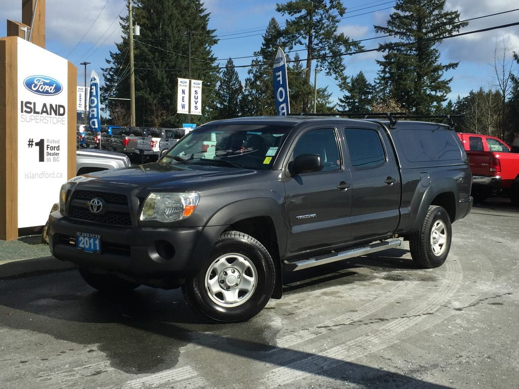 Pre-Owned 2011 Toyota Tacoma Canopy Running Boards Lined Box & Used 2011 Toyota Tacoma Canopy Running Boards Lined Box 4 Door ...